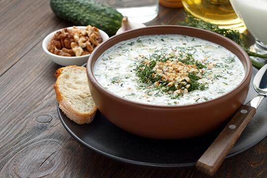 Таратор (холодный суп) — болгарское блюдо